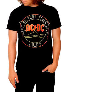 High Voltage Guitar T-shirt Ac/dc T-shirts